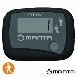 Pedómetro C/ Lcd 99999 Contagens Preto MANTA - (MA116)
