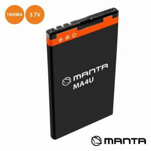 Bateria Li-Ion 3.7v 1000ma - (MA4U)