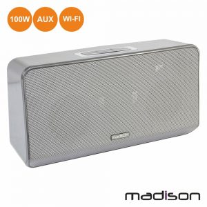 Coluna Bluetooth Portátil 100W Wifi/Aux Madison - (MAD-LINK100)
