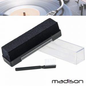 Kit De Limpeza P/ Disco Vinil Madison - (MAD-LPCLEAN)