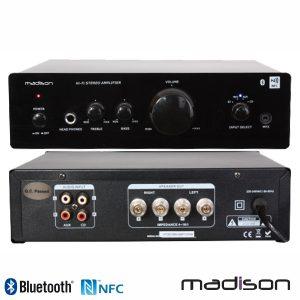 Amplificador Stereo Hifi 2x50W NFC/BT Madison - (MAD1000)