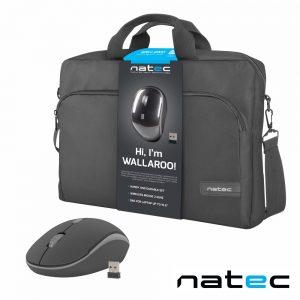 """Mala P/ Computador 15.6"""" C/ Rato Wireless NATEC - (NTO-1304)"""
