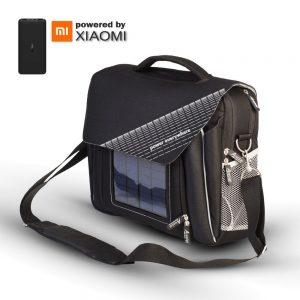 Mala P/ Portátil C/ Painel Solar E Powerbank 10000mAh Xiaomi - (AB312)