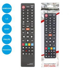 Comando TV Universal P/ SAMSUNG/Lg/Sony/Philips/Panasonic - (MAN3050)