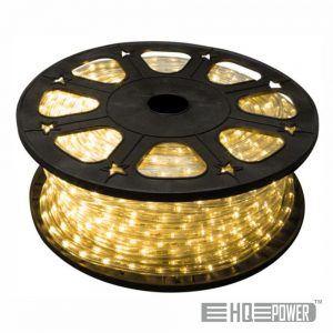 Mangueira Luminosa Led Branco Quente 45M HQ POWER - (HQRL45002)