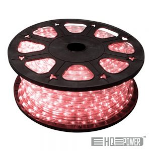Mangueira Luminosa Led Vermelho 45M HQ POWER - (HQRL45003)