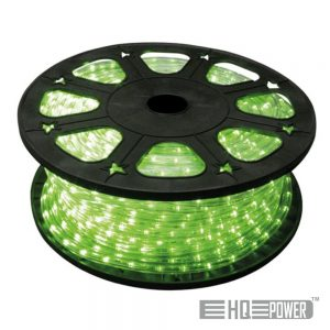 Mangueira Luminosa Verde 45M HQ POWER - (HQRL45004)