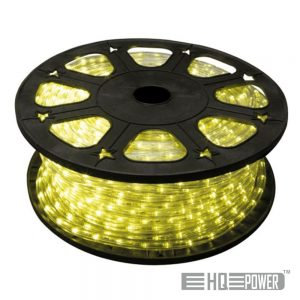 Mangueira Luminosa Led Amarelo 45M HQ POWER - (HQRL45006)