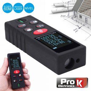 Medidor De Distâncias Digital C/ Laser 60m PROK - (MDD060A)
