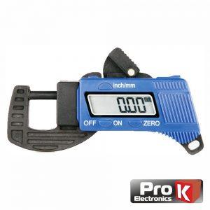 Medidor Espessura Digital 0-12mm C/ Visor PROK - (MED012A)