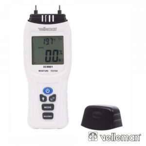 Medidor De Húmidade Digital C/ Termômetro - (DEM801)