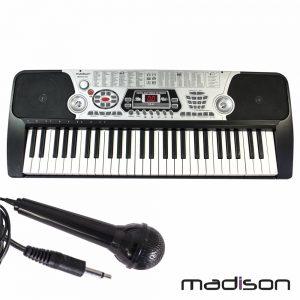 Orgão Teclado Elétrico Musical 54 Teclas Madison - (MEK54100)