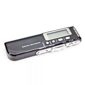 Gravador De Voz Digital Visor LCD 8GB - (MEMOVOICE-01)