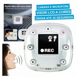 Gravador De Recados Digital Video E Voz - (MEMOVOICE)
