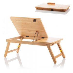 Mesa Multifunções Articulada em Bambu! - (INVG181)