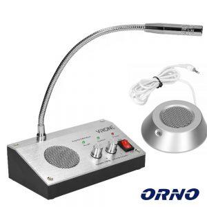 Microfone c/ Intercomunicador Bi-Direcional p/ Vidro - (IC-1)