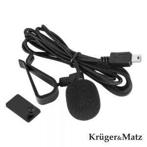 Microfone Lapela P/ Câmaras Ação Mini-USB 1.5m - (KM0730)