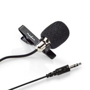Microfone Lapela P/ PC Jack 3.5mm - (MICCJ105BK)