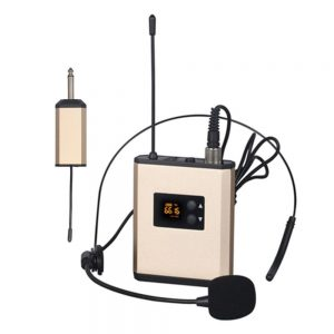 Microfone Lapela S/ Fios UHF - (MICLAPL3)