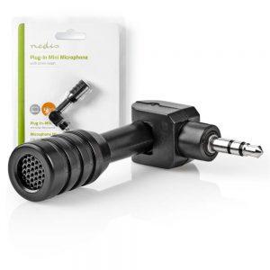 Microfone Mini P/ Portátil/PC - (MICMJ100BK)
