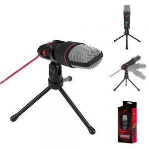 Microfone Mini c/ Tripé de Mesa e Ficha Jack 3.5mm - (VGMM)