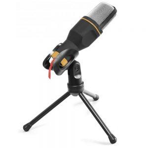 Microfone USB c/ Tripé de Mesa - (EH182)