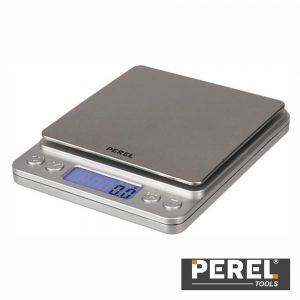 Mini Balança C/ Display Táctil 500g / 0.1g Perel - (VTBAL402)