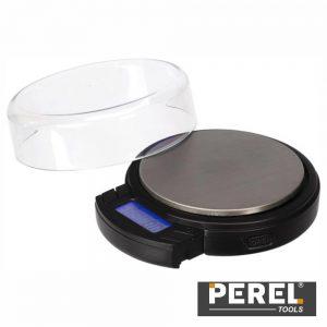 Mini Balança Precisão Digital 500g / 0.1g Perel - (VTBAL403)