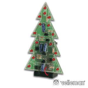 Kit Árvore De Natal C/ LEDS VELLEMAN - (MK100)