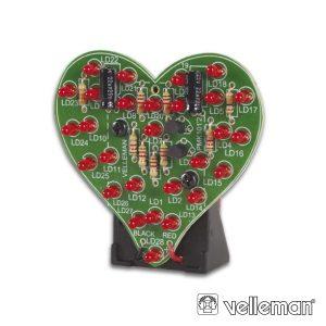 Kit Pequenos Corações VELLEMAN - (MK101)