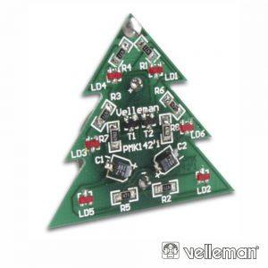 Kit Árvore De Natal 6 LEDS VELLEMAN - (MK142)