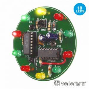 Kit Roda Da Sorte Electronico VELLEMAN - (MK152)