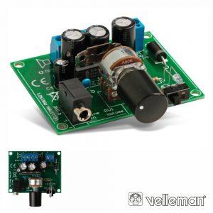 Kit 2x5W Amplificador Para Leitor Mp3  VELLEMAN - (MK190)