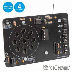 Kit Controlo Digital De Rádio FM VELLEMAN - (MK194N)