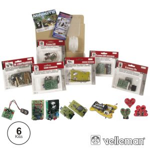 Conjunto 6 Mini-Kit VELLEMAN - (MKSET1)