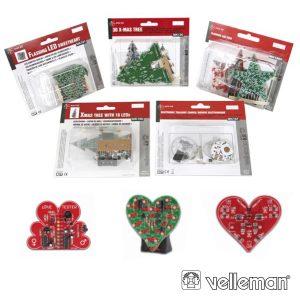 Conjunto 5 Mini-Kit VELLEMAN - (MKSET2)