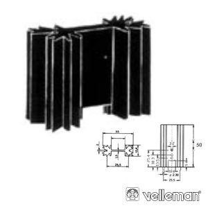 Dissipador De Calor To220 6ºc/W VELLEMAN - (ML73/50P)