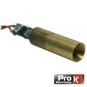 Módulo Laser Verde 20mW PROK - (MLV020V)