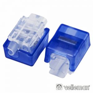 Conector De Pressão 3 Cabos 0.4-0.8mm VELLEMAN - (MMP105)