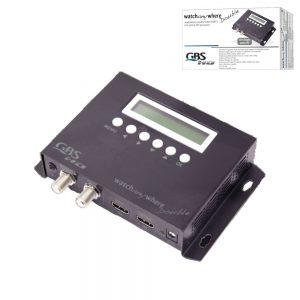 MODULADOR AV DVB-T DIGITAL HD C/ HDMI GBS - (41985)