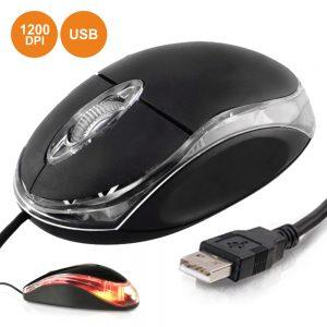 Rato Óptico 1200 Dpi USB - (MOUSE03A)