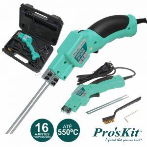 Faca Manual P/ Corte A Quente Esferovite PROSKIT - (MS-551B)