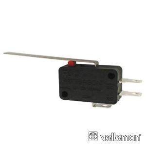Comutador MicrosWitch 12a Patilha Grande VELLEMAN - (MS12-L)