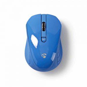 Rato S/ fios 1000 dpi 3 botões Azul NEDIS - (MSWS400BU)
