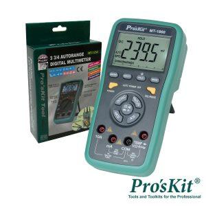 Multímetro Digital 3 5/6 Dígitos Retroiluminado PROSKIT - (MT-1860)