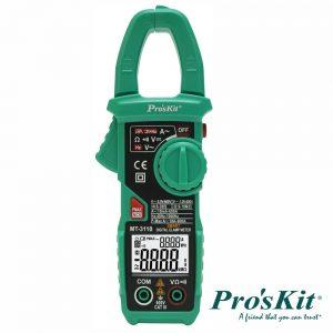Pinça Amperimétrica Digital AC/DC 400a PROSKIT - (MT-3110)