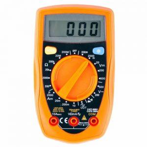 Multímetro Digital 3½ Dígitos Retroiluminado - (MUL0213)