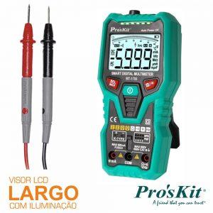 Multímetro Digital 3 5/6 Dígitos True Rms PROSKIT - (MT-1708)