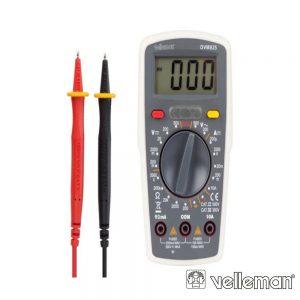 Multímetro Digital - Cat iii 300V / Cat ii 500V- 0A VELLEMAN - (DVM835)