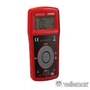 Multímetro Digital - Cat iii 300V / Cat ii 500V VELLEMAN - (DVM854)